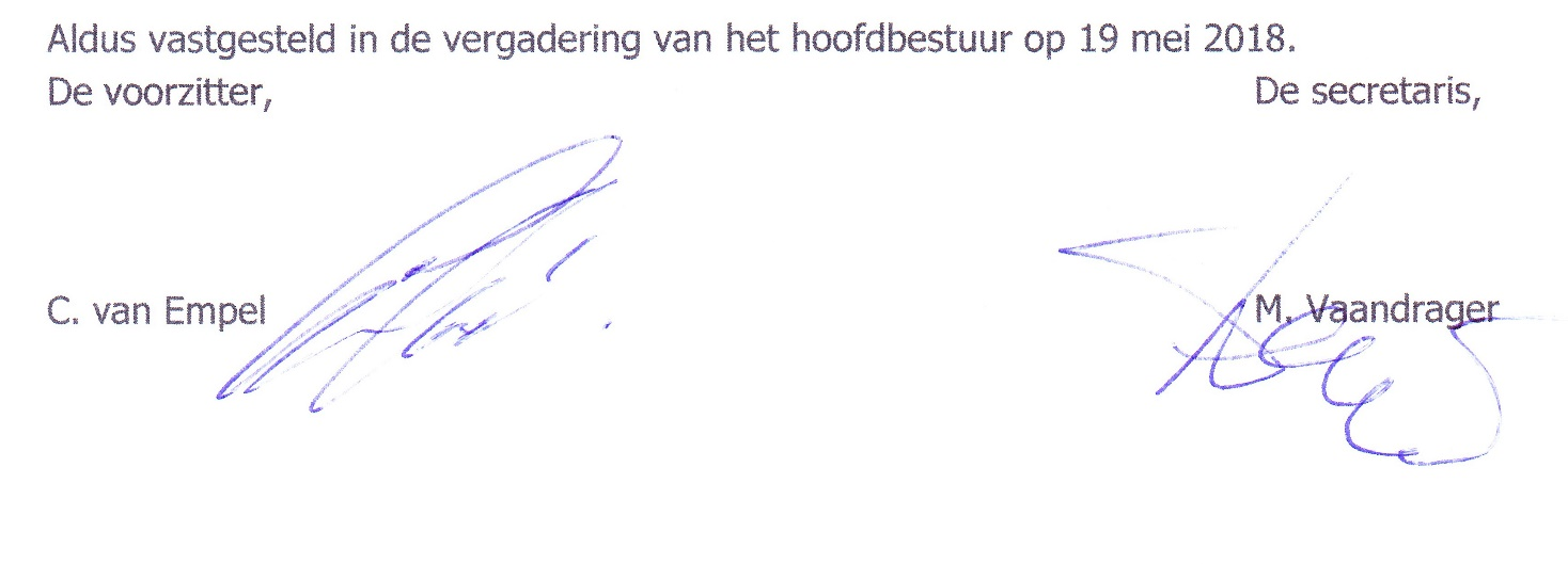 privacy handtekening